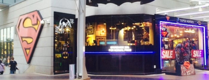 DC Comics Super Heroes is one of Johor/JB :Cafe connoisseurs Must Visit.