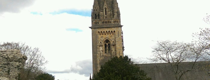 Llandaff Cathedral is one of Doctor Who and Sherlock - Cardiff Locations.