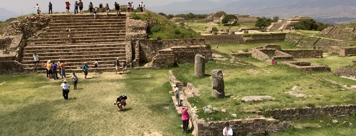 Monte Albán is one of Travel Guide to Oaxaca.