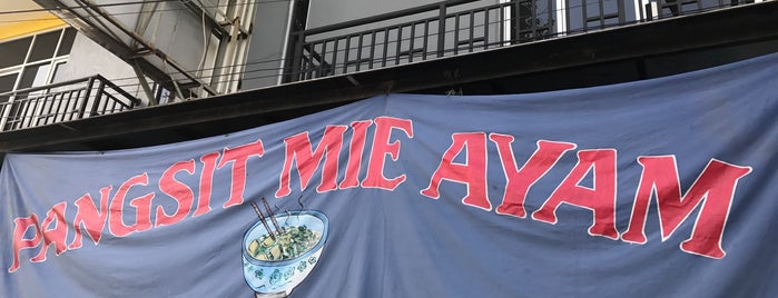 Pangsit Mie Ayam is one of Favorite Food.