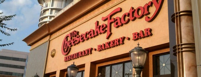 The Cheesecake Factory is one of Favorite Baltimore Restuarants.