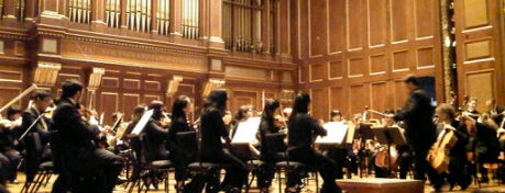 New England Conservatory's Jordan Hall is one of Top 10 favorites places in MA.