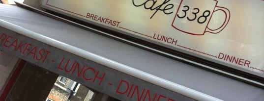 Cafe 338 is one of London.