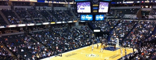 Bankers Life Fieldhouse is one of The Best Places in Indianapolis - #VisitUs.