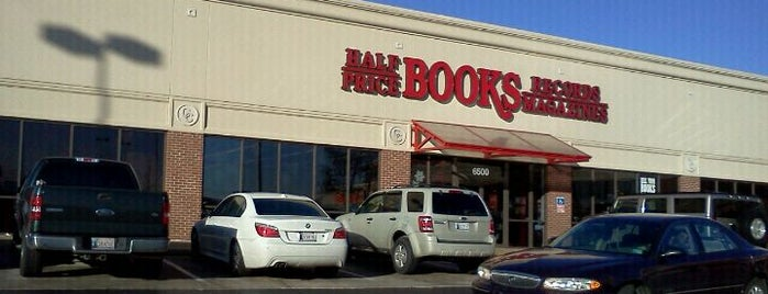 Half Price Books is one of Oklahoma.