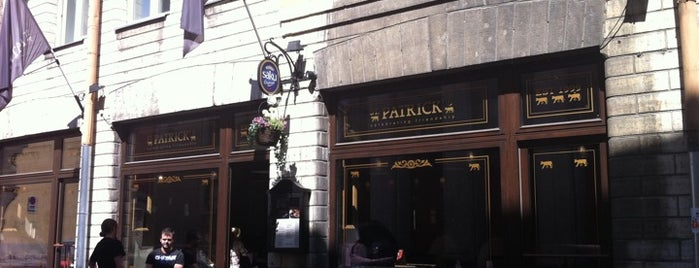 St. Patrick's is one of The Barman's bars in Tallinn.