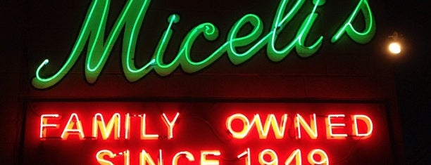 Miceli's Italian Restaurant is one of L.A..