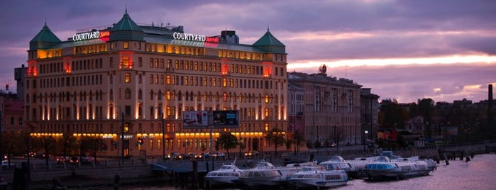 Courtyard St. Petersburg Vasilievsky is one of SPB.
