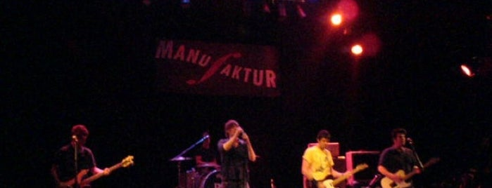Club Manufaktur is one of Best Live Music Venues.