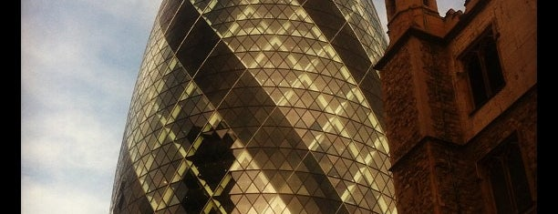 30 St Mary Axe is one of My United Kingdom Trip'09.