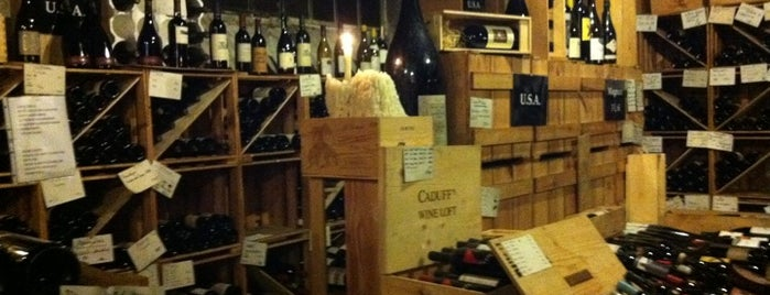Caduff's Wine Loft is one of Zürich - Switzerland = Peter's Fav's.