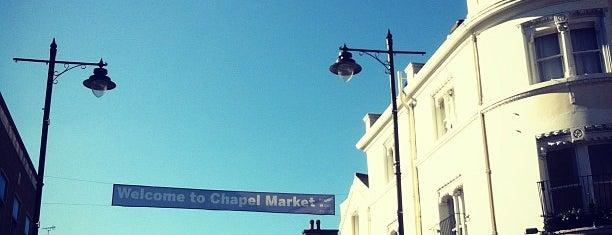 Chapel Market is one of London markets.