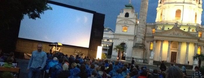 Kino unter Sternen / Cinema under the Stars is one of Hipsterheaven.