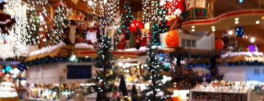 Bronner's Christmas Wonderland is one of Dan's Places.