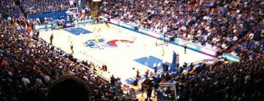 Allen Fieldhouse is one of KC Sports Venues.
