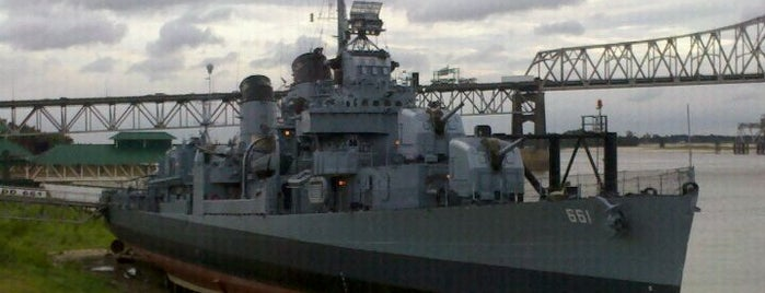 USS Kidd WWII Museum is one of Historian.
