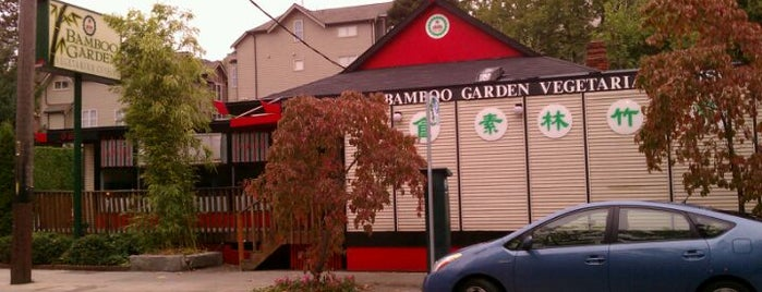 Bamboo Garden is one of Vegan Joints I Like….