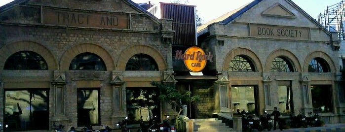 Hard Rock Cafe Bengaluru is one of The 15 Best Places with Good Service in Bangalore.