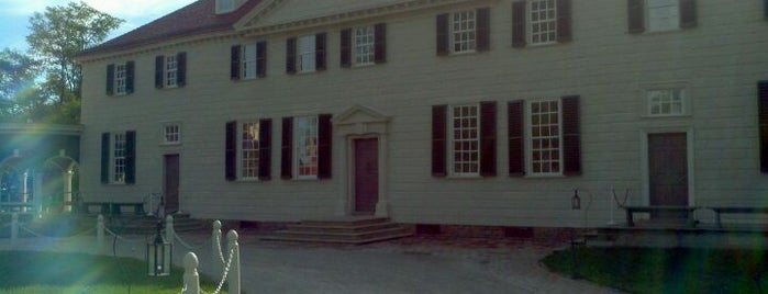 George Washington's Mount Vernon is one of Mr. President, Mr. President....