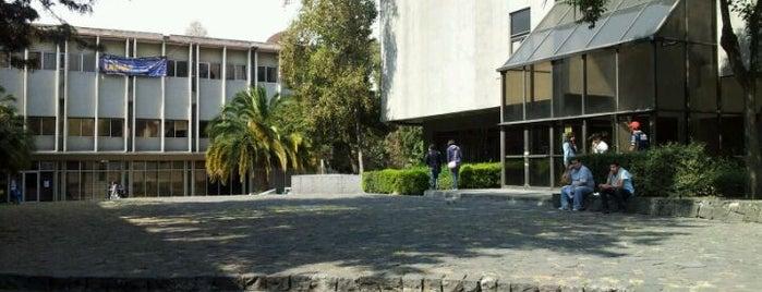 UNAM Facultad de Contaduría y Administración is one of Universidades Ciudad de México.