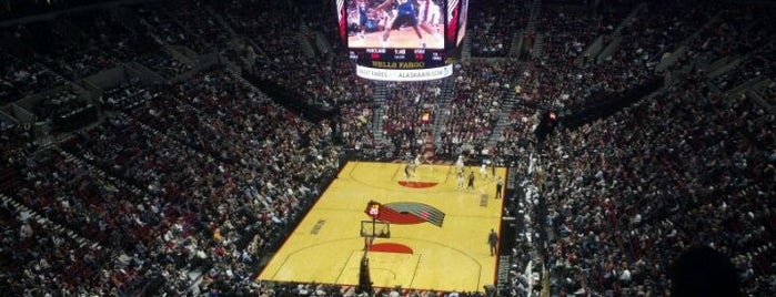 Moda Center at The Rose Quarter is one of Great Sport Locations Across United States.