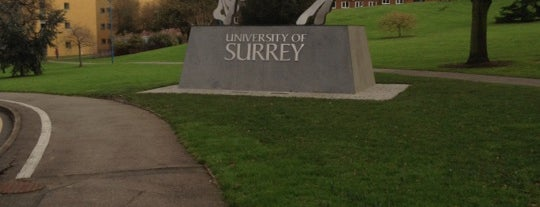 University of Surrey is one of Guildford #4sqCities.