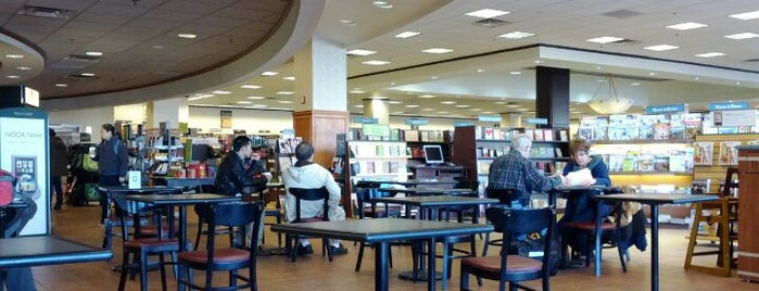 Barnes & Noble is one of my places.