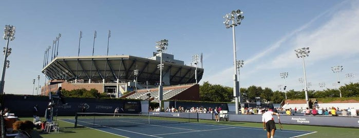 Court 8 - USTA Billie Jean King National Tennis Center is one of US Open.