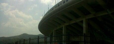 Stadion Si Jalak Harupat is one of Bandung Tourism: Parijs Van Java.