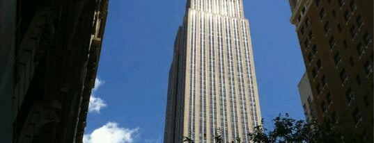 Empire State Building is one of If You're A Tourist in NYC....