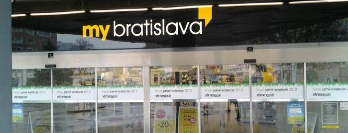 My Bratislava (Tesco) is one of Free WiFi.