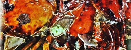 Seremban Seafood Village 芙蓉燒蟹海鮮村 is one of Yeh's Fav Food!! ^o^.