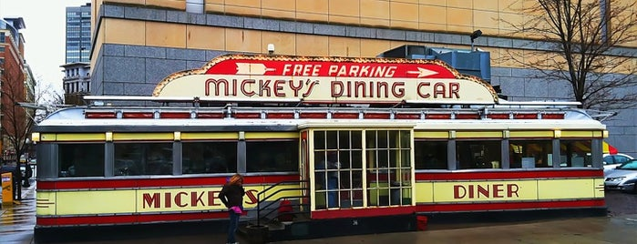 Mickey's Diner is one of Best Places to Check out in United States Pt 3.
