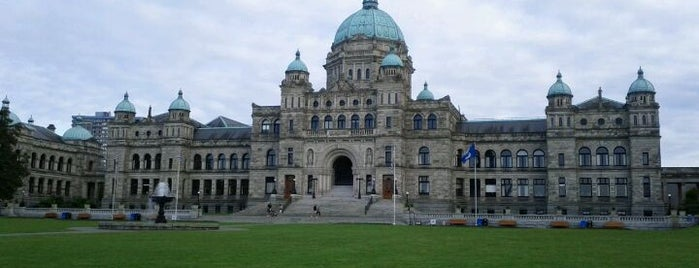 British Columbia Parliament Buildings is one of Canada Favorites.