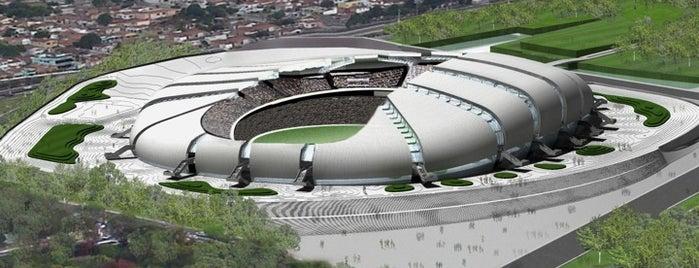 Arena das Dunas is one of Estadios Brasil Mundial FIFA 2014.