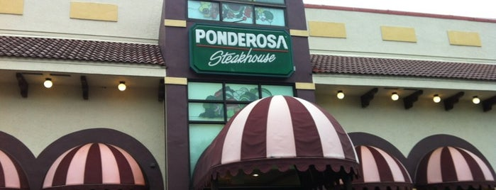 Ponderosa Steakhouse is one of Dining in Orlando, Florida.