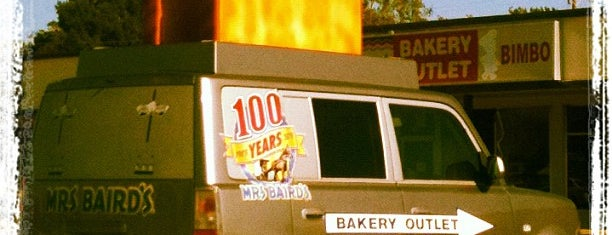Mrs Baird's Bakery Outlet is one of places.