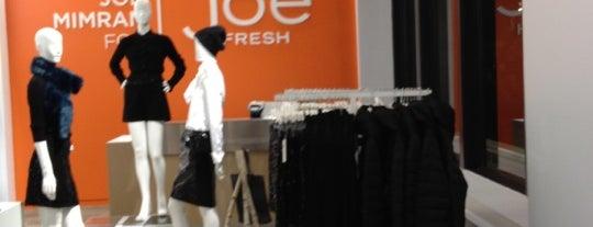 Joe Fresh is one of New York: Shop.