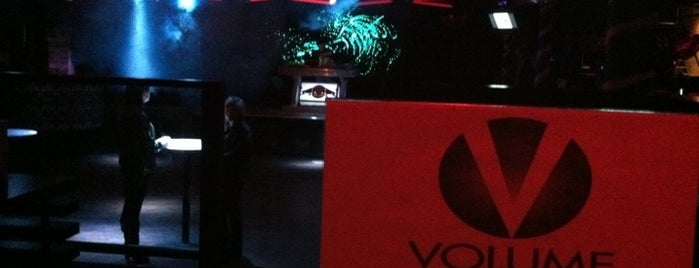 Volume is one of Nightlife and Dining.