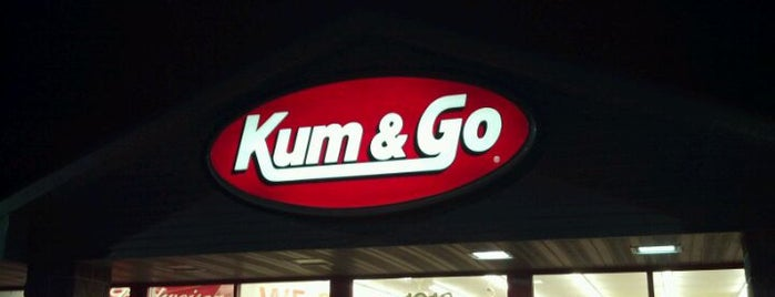 Kum & Go is one of frequent flyers :).