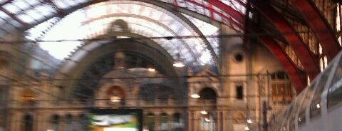 Antwerp-Central Railway Station is one of Bruxelles.