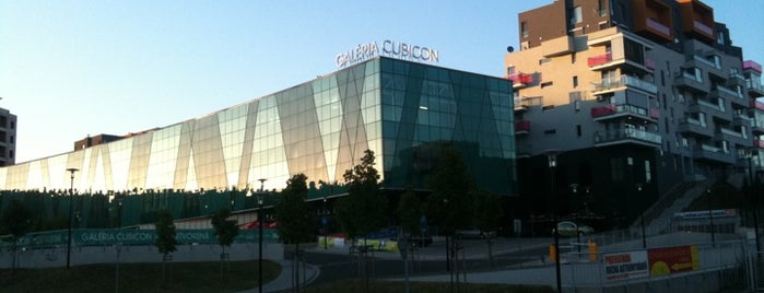 Galéria Cubicon is one of MALLS/SHOPPING CENTERS in Slovakia.