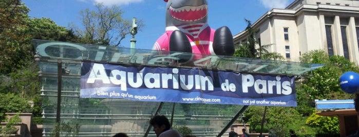 Aquarium de Paris – Cinéaqua is one of Paris, FR.