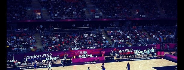London 2012 Basketball Arena is one of 2 do list # 2.
