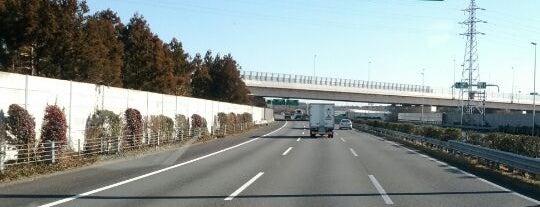つくばJCT is one of 高速道路.