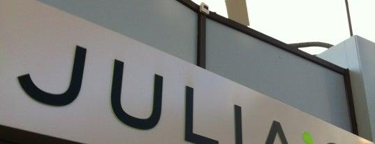 Julia's is one of werk/school.