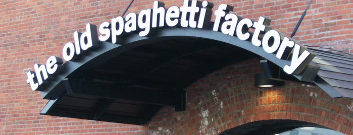 The Old Spaghetti Factory is one of Favorite Food.
