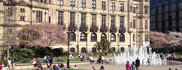 """Peace Gardens is one of """"MUST GO""""  Sheffield.."""