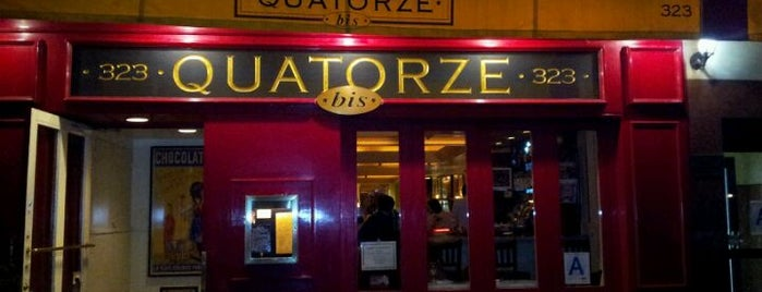 Quatorze Bis is one of Good Eats NYC.