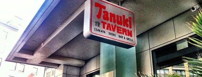 Tanuki Tavern is one of NYC Restaurant Week Uptown.